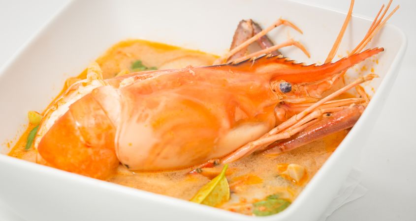 Freshwater Prawn Tom Yum