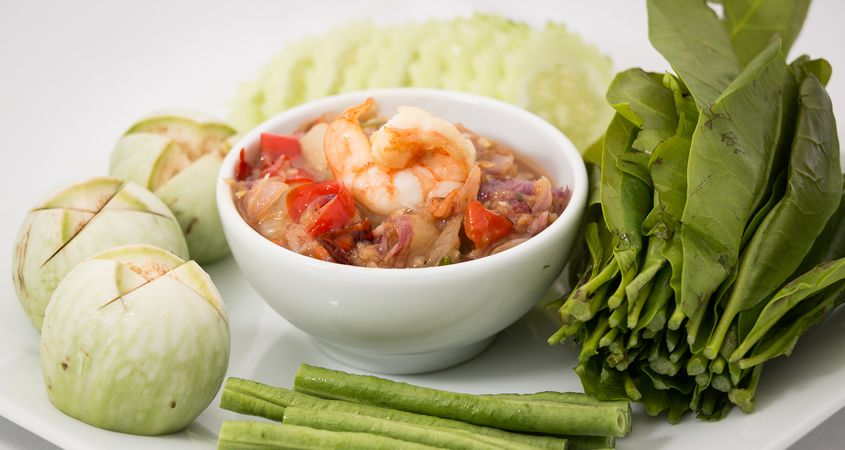Dried Shrimp Chili Sauce with Vegetables